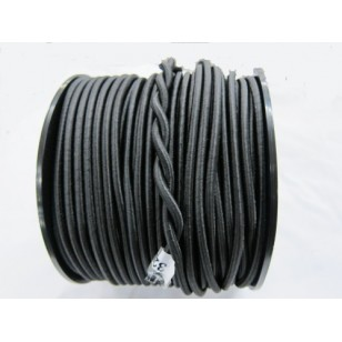 6mm Bungee/Shock Cord Black 100m Roll