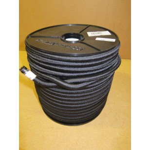 10mm Bungee/Shock Cord Black 50m Roll