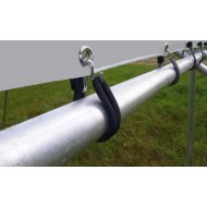 Stainless Steel Goose Neck Bungee Hooks x 5