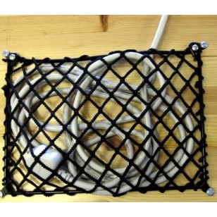 Metal Frame Elasticated Net 30cm x 19.5cm