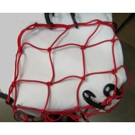 Elasticated Cargo Net Red 80cm x 70cm x 3