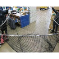 Recycling Container Net 1.83m x 1.83m (40mm mesh)  Cube with Open End