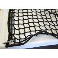 Extra Heavy Duty Cargo Net 1.5m x 1.5m  With Bungee Cord and Carabiner Hooks