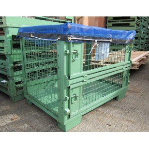 Dipped Mesh Stillage Covers 1m x 1.2m (B) x 15cm (D)