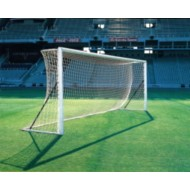 Continental Senior Football Goal Nets (pair) White 2.3mm