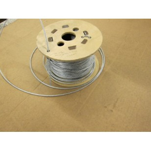 3mm Galvanised Steel Cable 100m Reel