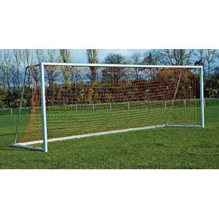 International Senior Football Goal Nets (pair) White 4mm