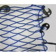 Elasticated Cargo Net Blue 80cm x 70cm