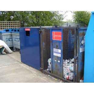 Recycling Container Net 1.83m x 1.83m (45mm mesh) Cube with Open End