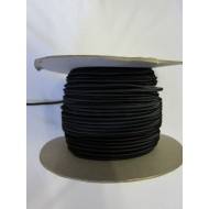 4mm Bungee/Shock Cord Black 100m Roll