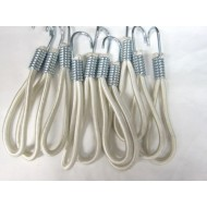 Heavy Duty Elasticated Hook 15cm (pack of 10)
