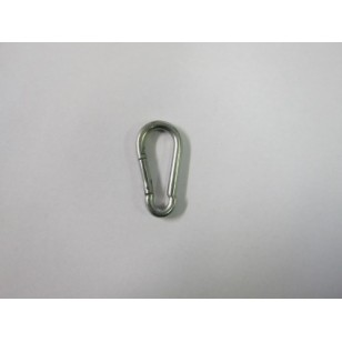 Galvanised Snaphook Carabiner 50mm (Pack of 10)